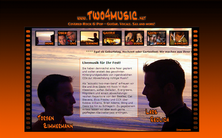 Screenshot: two4music
